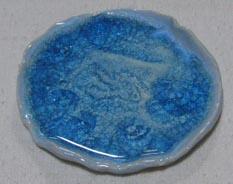 釉薬は青萩