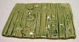 4番 織部釉