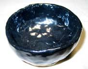 7番 銀油滴黒天目釉