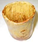 8番 黄瀬戸釉