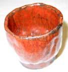 9番 鉄赤結晶釉