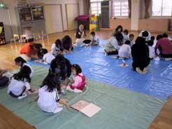 泉南市 鳴滝幼稚園 親子陶芸教室