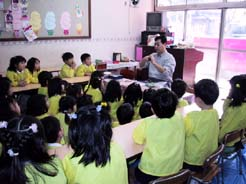 大宅保育園 卒園記念陶芸教室