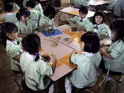 枚方市 第2ロ−ズ幼稚園 卒園記念陶芸教室