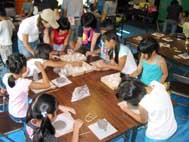 大阪府和泉市 国分町子供会の陶芸