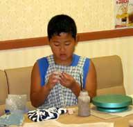 7月25日 午後の部 小学生の造形教室