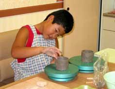 8月22日 午後の部 小学生の造形教室