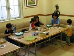6月3日 幼児の造形教室の模様