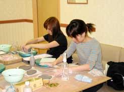 10月21日 午後の部 たのしい陶芸の体験模様
