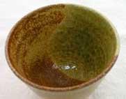 19番 透明と黄瀬戸釉の組合わせ