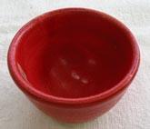 10番 紅赤釉