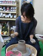 太秦教室 作陶風景