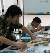 8月17日 山科教室の模様